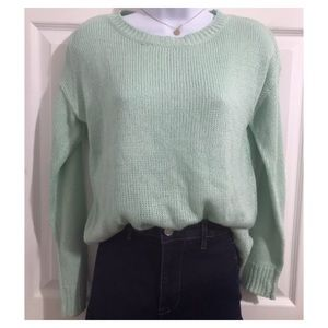 Mint Green Sweater